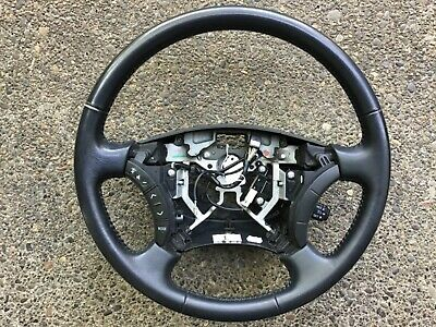 2003-2009 Toyota 4Runner Factory OEM Black Leather Steering Wheel DISCOUNTED