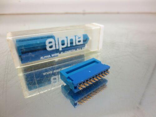 ALPHA WIRE, FCC-120, MALE CONNECTOR PLUG, 20 PIN