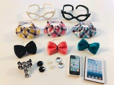 Littlest Pet Shop LPS 14 PC Clothes NERD Accessories Custom Skirts Bow - Nerd Clothes