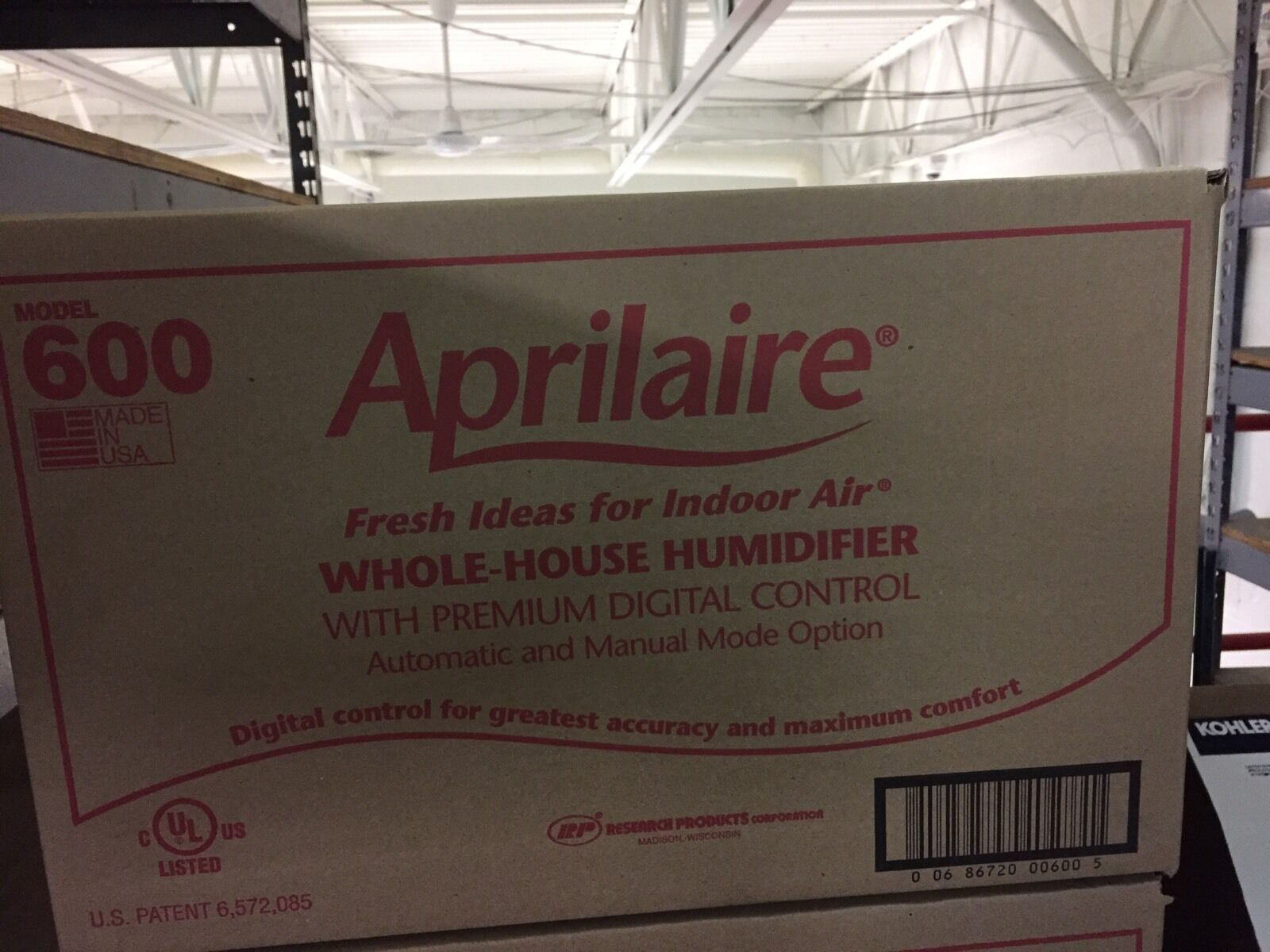 Купить Aprilaire 600 - Aprilaire 600 Automatic Whole Home Bypass Humidifier - NEW - Genuine OEM