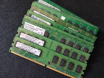 6400 Desktop Speicher (2GB DDR2 RAM 4200U (533MHz) 5300U (667MHz) 6400U (800MHz)  PC Desktop Speicher)