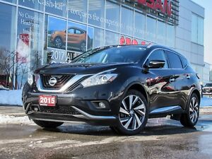 2015 Nissan Murano Platinum VERY CLEAN ONE OWNER AND LOADED
