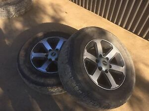 ROH 17 Inch Rims W/Bridgestone Dueler H/T Mornington Mornington Peninsula Preview