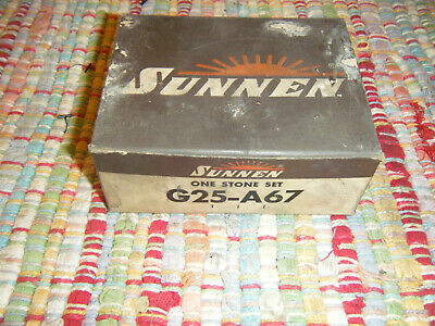 Sunnen Stone Set G25 A 6 7 280 Grit Aluminum Oxide Portable Hone