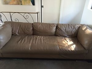 FREE Italian Leather Couch Freshwater Manly Area Preview