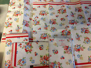 4 TISSUES RARE CATH KIDSTON SPRING FLOWER WHITE DECOUPAGE PAPER NAPKIN CRAFTING