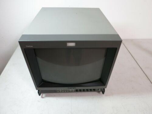 Vintage SONY PVM-1351Q retro gaming COLOR MONITOR #1 free U.S. shipping