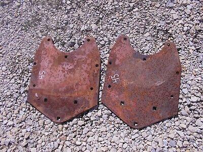 Allis Chalmers Wd 45 Tractor Pair 2 Ac Fender Mounting Brace Bracket Brackets
