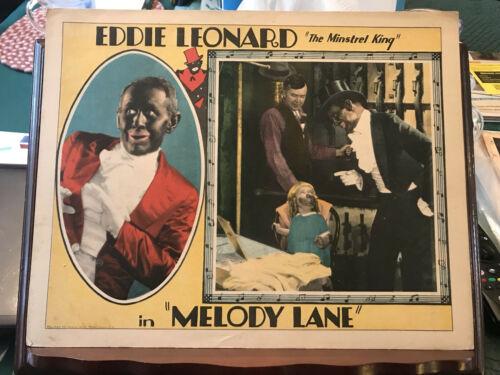 "Melody Lane 1929 Universal 11x14"" lobby card Eddie Leonard Monte Carter Rose Coe"