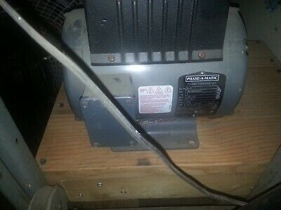 R-3 2 Hp - 220 Vac - Phase-a-matic Rotary Phase Converter