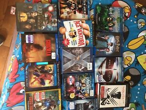 Blu rays and DVD's
