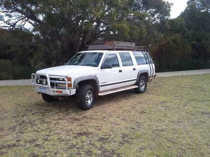 1999 Holden Suburban Wagon