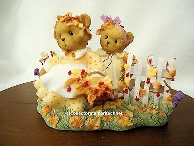 Halloween Event 07 (Cherished Teddies Bonnie and Kay Fall 2007 Event Excl LE NIB )
