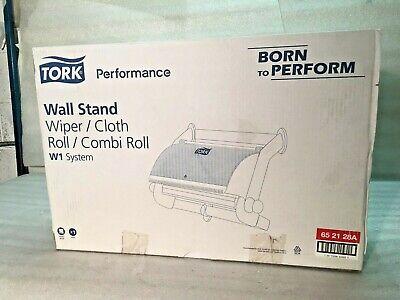 Tork W1 System Wiper Cloth Roll Wall Stand New Oem 652128a