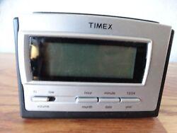 EUC! TIMEX Digital Travel ALARM CLOCK  Battery Operated