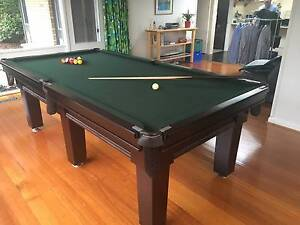 Pub Size Pool Table - Mint Condition Nunawading Whitehorse Area Preview
