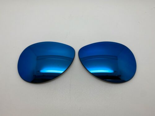 Custom Oakley FEEDBACK Sunglass Replacement Lenses Blue Mirror Polarized NEW!!