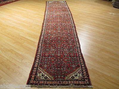 13 FEET 3x13 Runner Persian Liliyan Vegetable Dye Hand-knotted Wool Rug 581247