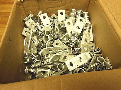 Burndy compression lug YA262L 2/0 CU 2-hole short 5/16 crimp BOX OF 100