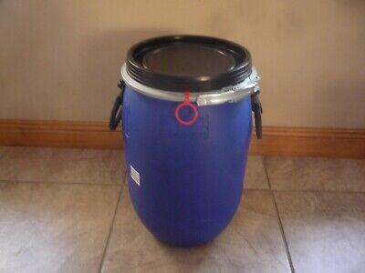 Empty 200l Litre Barrel Oil Drum Food Grade Metal Spotless Resealable