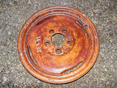 Massey Harris 22 Tractor Front Press Steel Rim For Tire To Hub