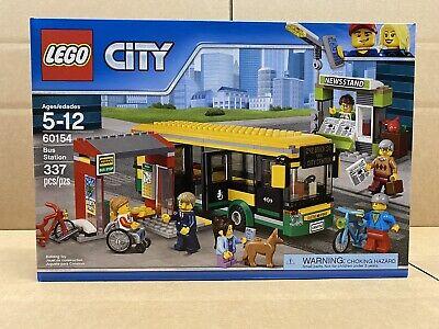 LEGO City - 60154 - Bus Station - NEW - SEALED - FREE SHIPPING