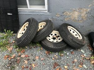 5x4.5 Trailer Rims and tires 205/75D14