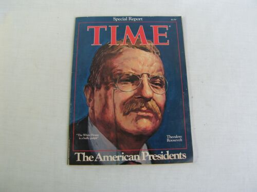 """1976 Time Magazine """"The American Presidents"""" Cover of Theodore Roosevelt"""