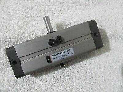 Smc Ncdra1bw30-180 Pneumatic Air Rotary Actuator Double Rod