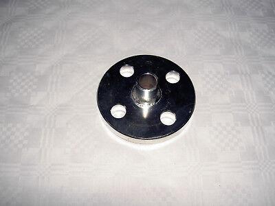 Edelstahl Flansch mit Schweißende DN 15 V2A 304L