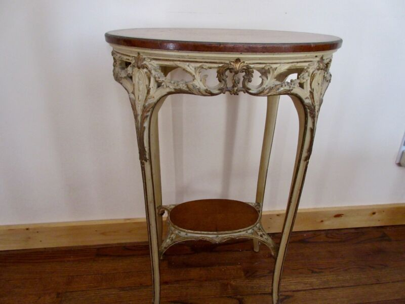 French Louis Rococo Gold table
