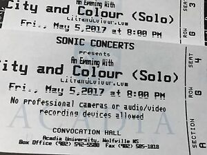 City and Colour, Dallas Green Tickets