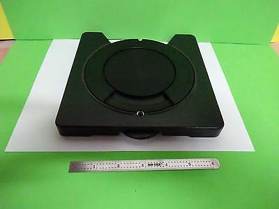 Microscope Part Leitz Germany Rotable Stage Table As Is Bin67-01