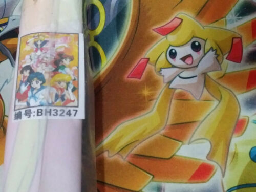 Pretty Soldier Sailor Moon wall scroll Poster BH3247