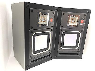 SONY APM 500 Speaker 2 Way System 50 Watts Vintage REFURBISHID LIKE NEW