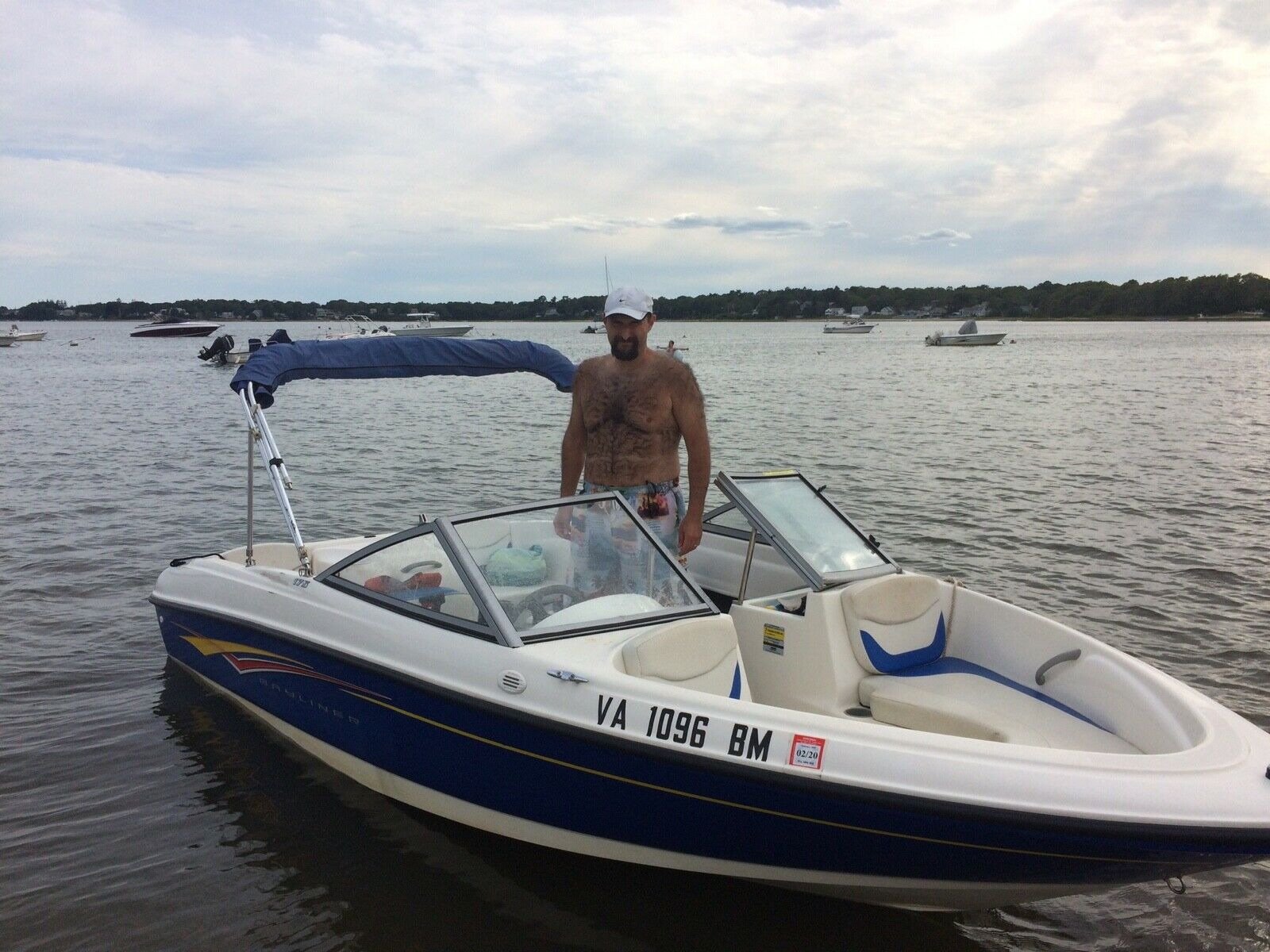 2007 Bayliner Bowrider w/trailer and cover