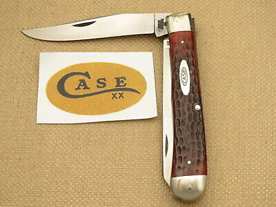 Vintage Case XX USA 1965-1969 6254 SSP Trapper Chestnut Bone Rare First Model