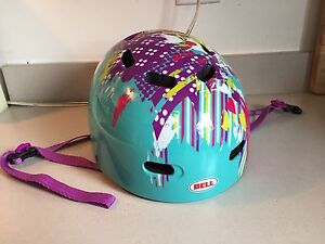 Girl's Bell helmet.  youth 53-56cm