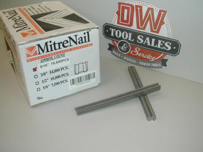 """MitreNail Mini 5/16"""" Corrugated Fasteners"""