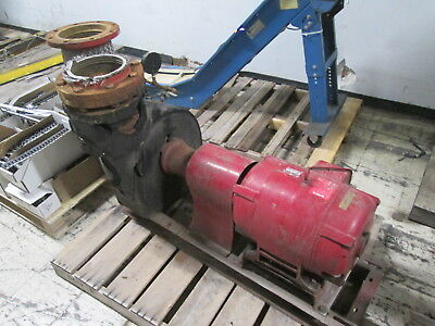 Bell Gossett 1510 Pump 5e 10-58 Bf 900gpm 100ft Head 30hp 1800rpm 175psi Used