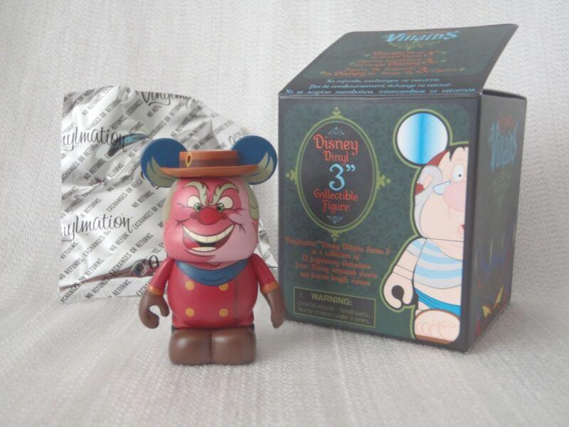 "Disney Vinylmation Villains Series #3 Pinocchio THE COACHMAN 3"" Figure With Hat"