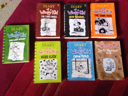 Diary of a wimpy kid childrens books gumtree australia brisbane diary of a wimpy kid books solutioingenieria Gallery