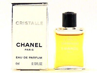 CHANEL CRISTALLE EDP 4.0ml .13fl oz PERFUME MINI COLLECTABLE NEW IN BOX RARE
