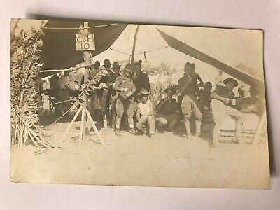 Party City Tents (US Army Military RPPC Juan Diaz Panama City Camp Co H 10th Company Mess Tent)