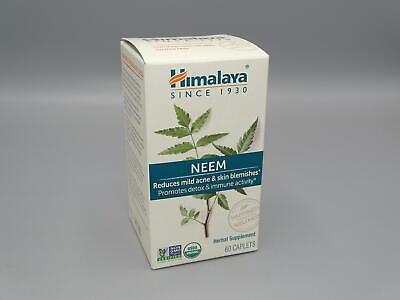 Himalaya Organic Neem 60 Caplets 600mg Exp 4/22!!!