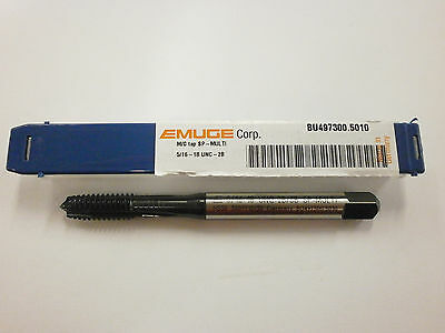 Emuge 516-18 Spiral Point Multi-tap 2b3b High Performance Germany Bu4973005010