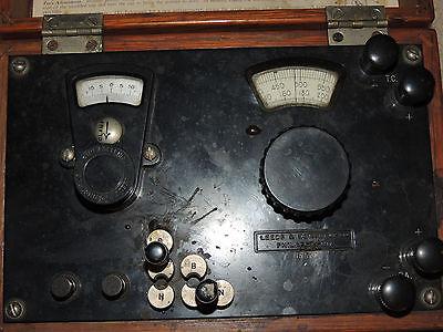 Leeds Northrup Ln Multiple Range Potentiometer Indicator