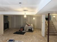 Drywall Boarding and Taping services