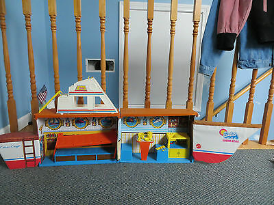 Vintage 1974 BARBIE'S DREAM BOAT CRUISE SHIP  with PANS