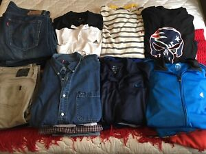 Men's Large and XL Clothing